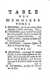 Mémoires présentez à Monseigneur le duc d'Orléans, régent de France, contenant les moyens de rendre ce roïaume très-puissant et d'augmenter considérablement les revenus du roi et du peuple