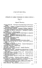 Journal - Chemical Society, London: Volume 74, Part 1