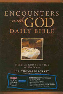 Encounters with God Daily Bible
