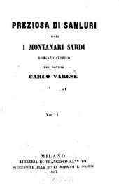 Preziosa di Sanluri ossia i Montanari Sardi: Volume 2