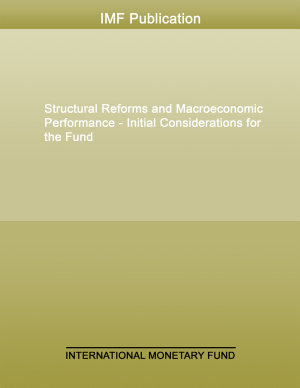 Structural Reforms and Macroeconomic Performance   Initial Considerations for the Fund PDF