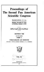 Proceedings of the Second Pan American Scientific Congress PDF
