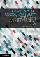 Government Accountability: Australian Administrative Law