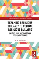 Teaching Religious Literacy to Combat Religious Bullying PDF