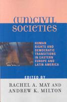 Uncivil Societies PDF