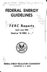Federal Energy Regulatory Commission Reports