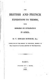 The British and French Expeditions to Teembo: With Remarks on Civilization in Africa