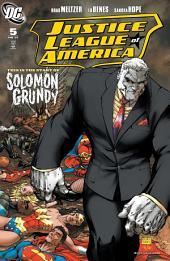 Justice League of America (2006-) #5