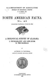 A Biological Survey of Alabama