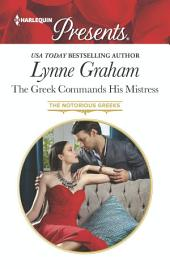 The Greek Commands His Mistress