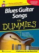 Blues Guitar Songs for Dummies PDF