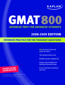 Kaplan GMAT 800  2008 2009 Edition PDF