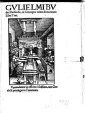 De contemptu rerum fortuitarum libri tres