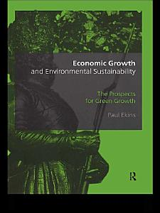 Economic Growth and Environmental Sustainability PDF