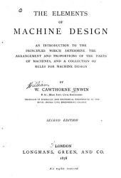 The Elements of Machine Design