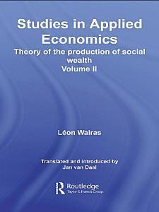Studies in Applied Economics Book
