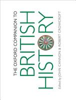 The Oxford Companion to British History PDF