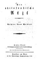 Der philosophische Arzt PDF