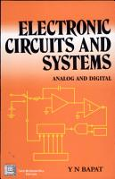 Electronic Circuits and Systems   Analog and Digital 1e PDF