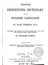Improved pronouncing dictionary of the English language