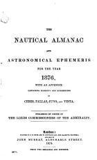 The Nautical Almanac and Astronomical Ephemeris for the Year PDF