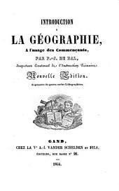 Introduction à la géographie, à l'usage des commençants
