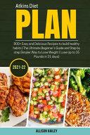 Atkins Diet Plan 2021-22