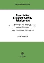 Quantitative Structure Activity Relationships PDF