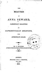 The Beauties of Anna Seward
