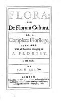 De Florum Cultura PDF