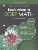Explorations in Core Math for Common Core Geometry Book