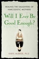 Will I Ever be Good Enough  PDF