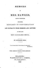 Memoirs of Mrs. Hawkes, late of Islington