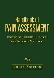 Handbook of Pain Assessment  Third Edition PDF