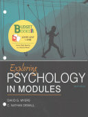Loose leaf Version for Exploring Psychology in Modules