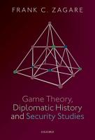 Game Theory  Diplomatic History and Security Studies PDF
