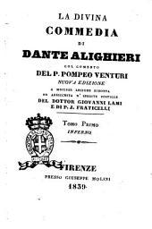 La Divina Commedia di Dante Alighieri: Inferno, Volume 1