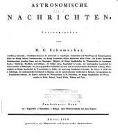 Astronomische Nachrichten: Volumes 15-16