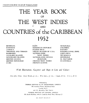 The Year Book of the West Indies and Countries of the Caribbean