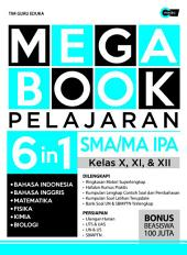 Mega Book Pelajaran SMA/MA IPA Kelas X, XI, & XII