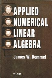 Applied Numerical Linear Algebra