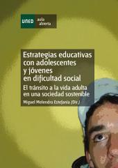 Estrategias Educativas Con Adolescentes Y JÓVenes En Dificultad Social. El TrÁNsito a La Vida Adulta En Una Sociedad Sostenible