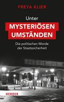 Unter mysteri  sen Umst  nden PDF
