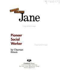 Jane Addams PDF
