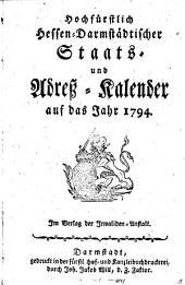 Landgräflich hessischer Staats- und Adress-kalender ...