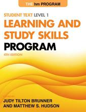 The hm Learning and Study Skills Program: Student Text Level 1, Edition 4