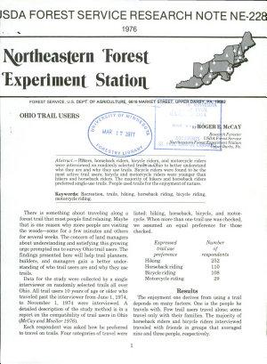 Ohio trail users PDF