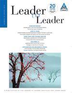 Leader to Leader (LTL), Spring 2010