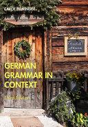 German Grammar in Context PDF
