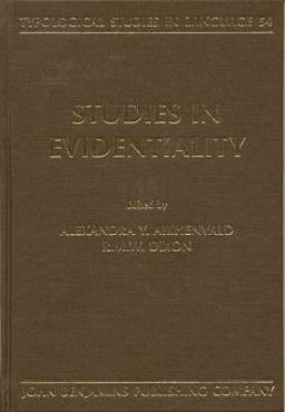 Studies in Evidentiality PDF